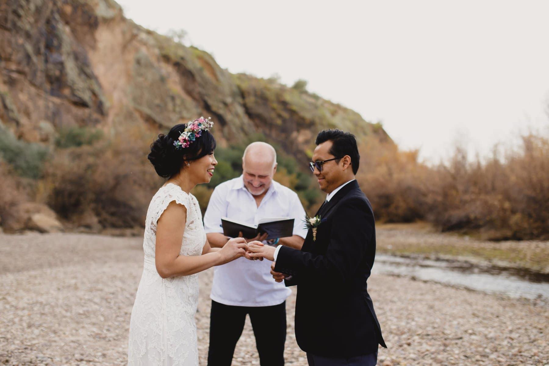 Salt River wedding Arizona
