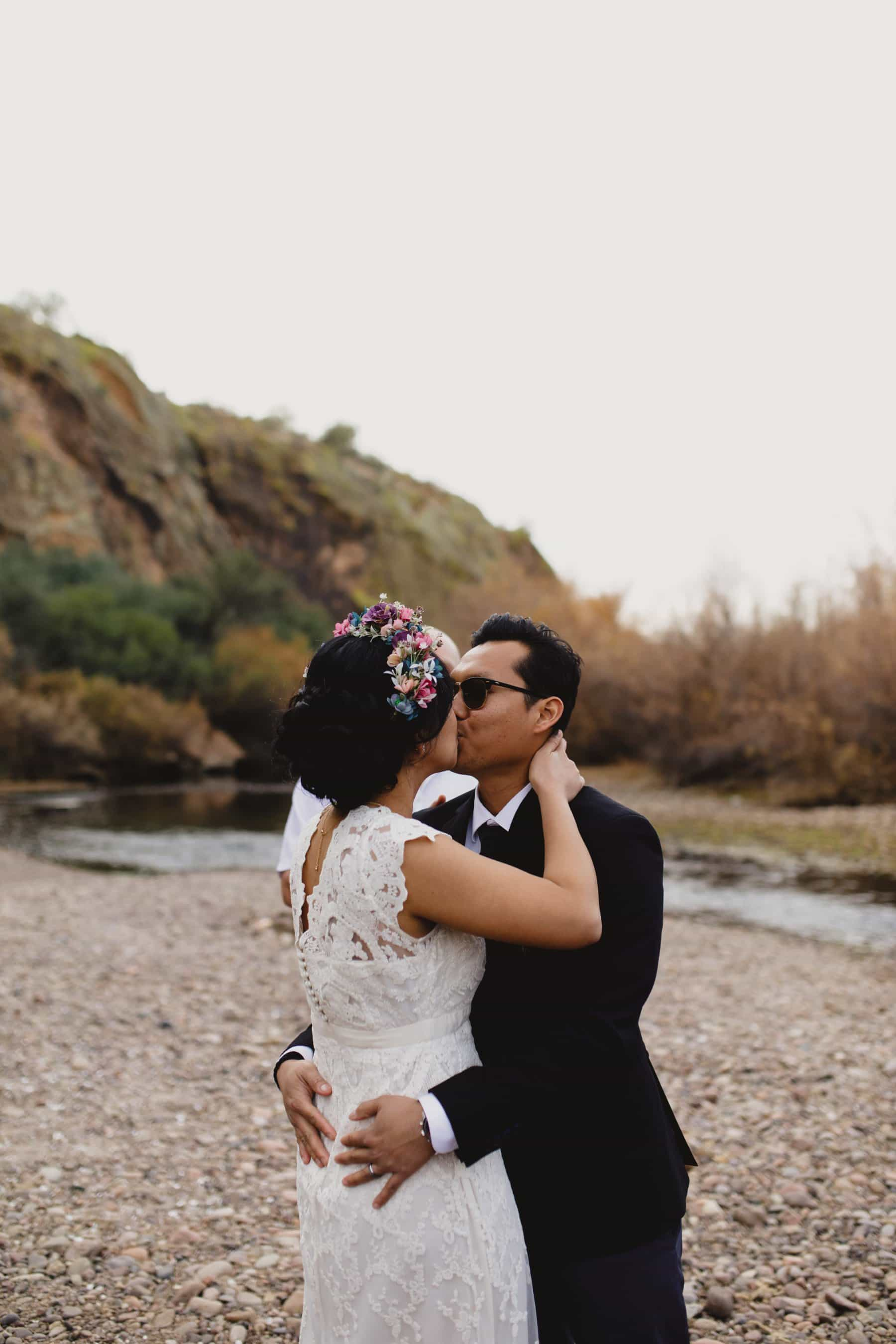Salt River Arizona wedding ceremony