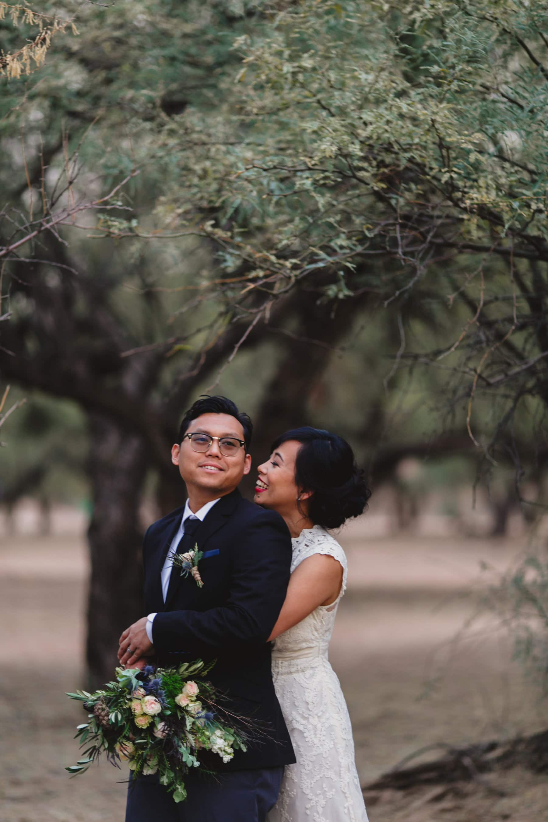 wedding photos at Salt River