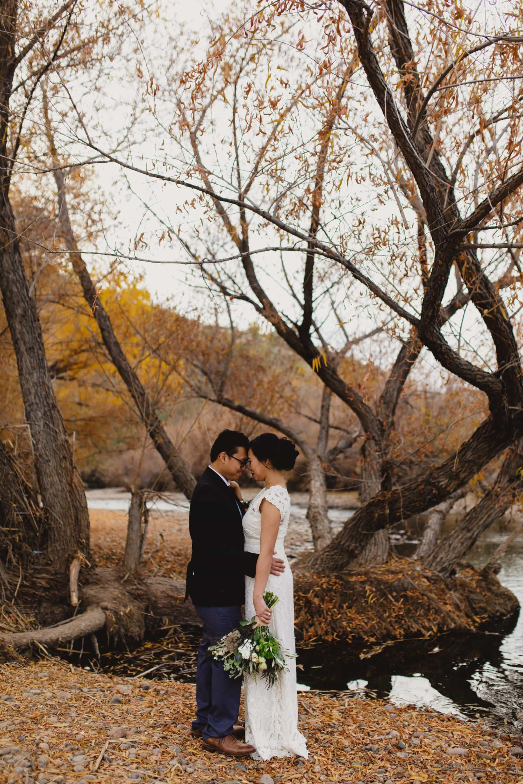 fall wedding in Arizona