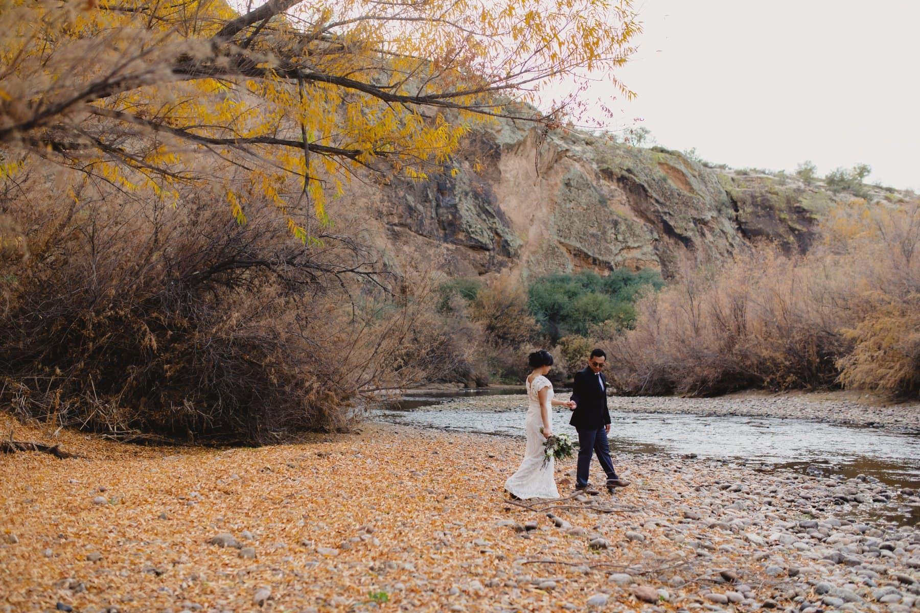 outdoorsy wedding location in Arizona