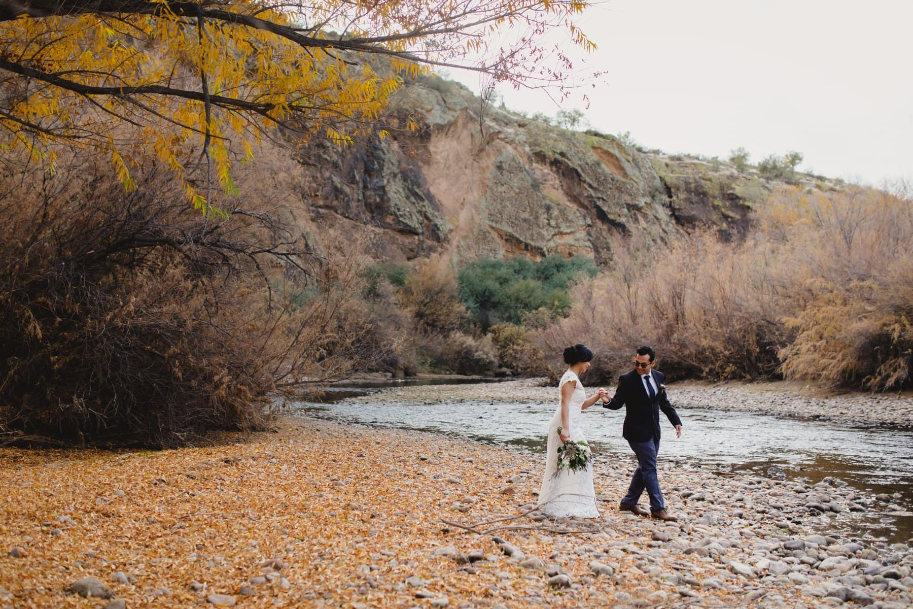 outside location for small wedding in Arizona