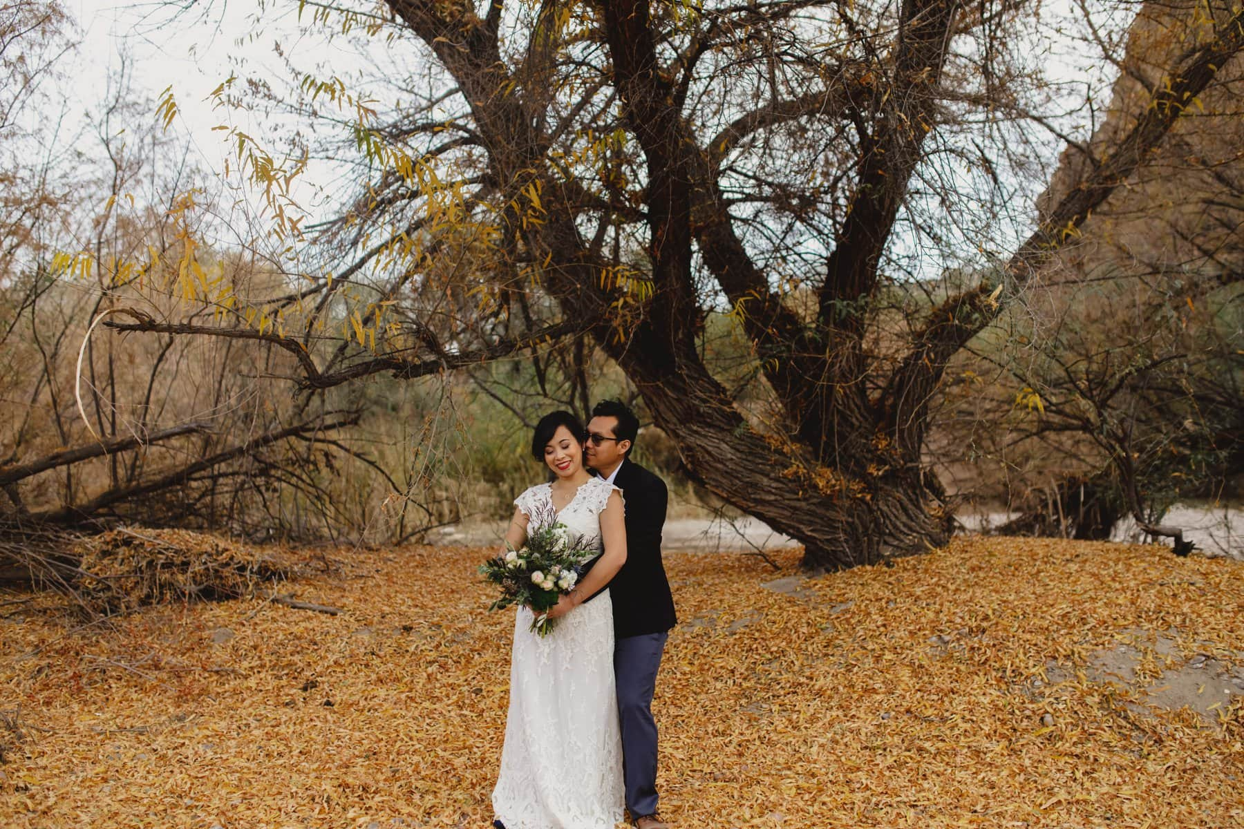 fall Arizona wedding photos