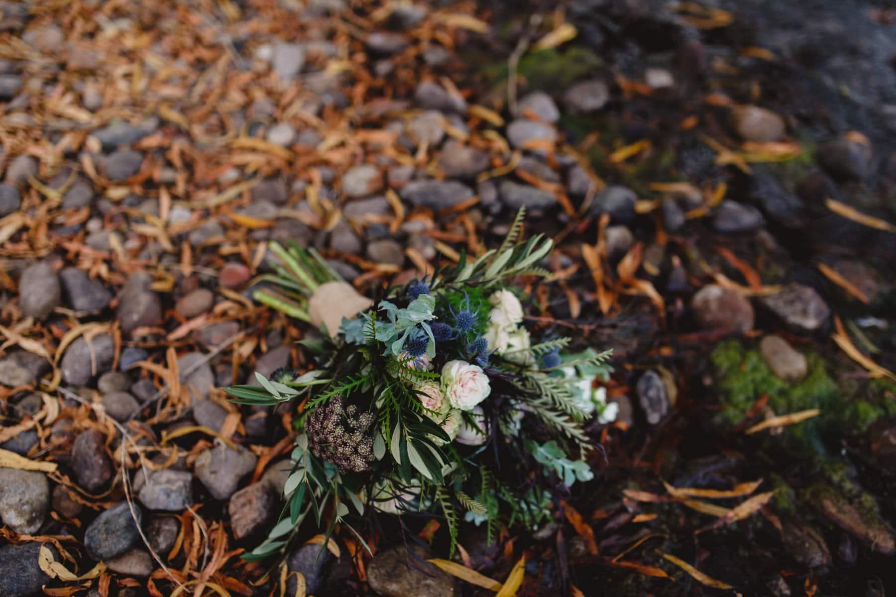 fall bridal bouquet in Arizona