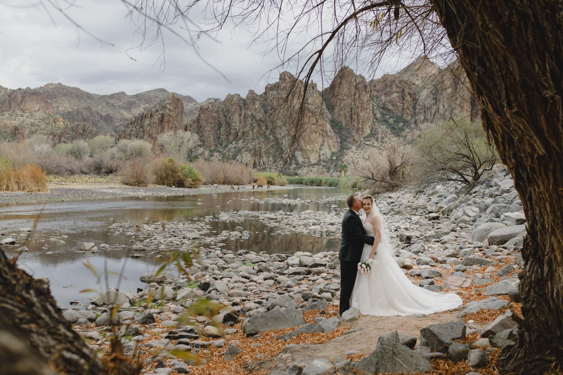 Sagauro Lake Ranch wedding photos