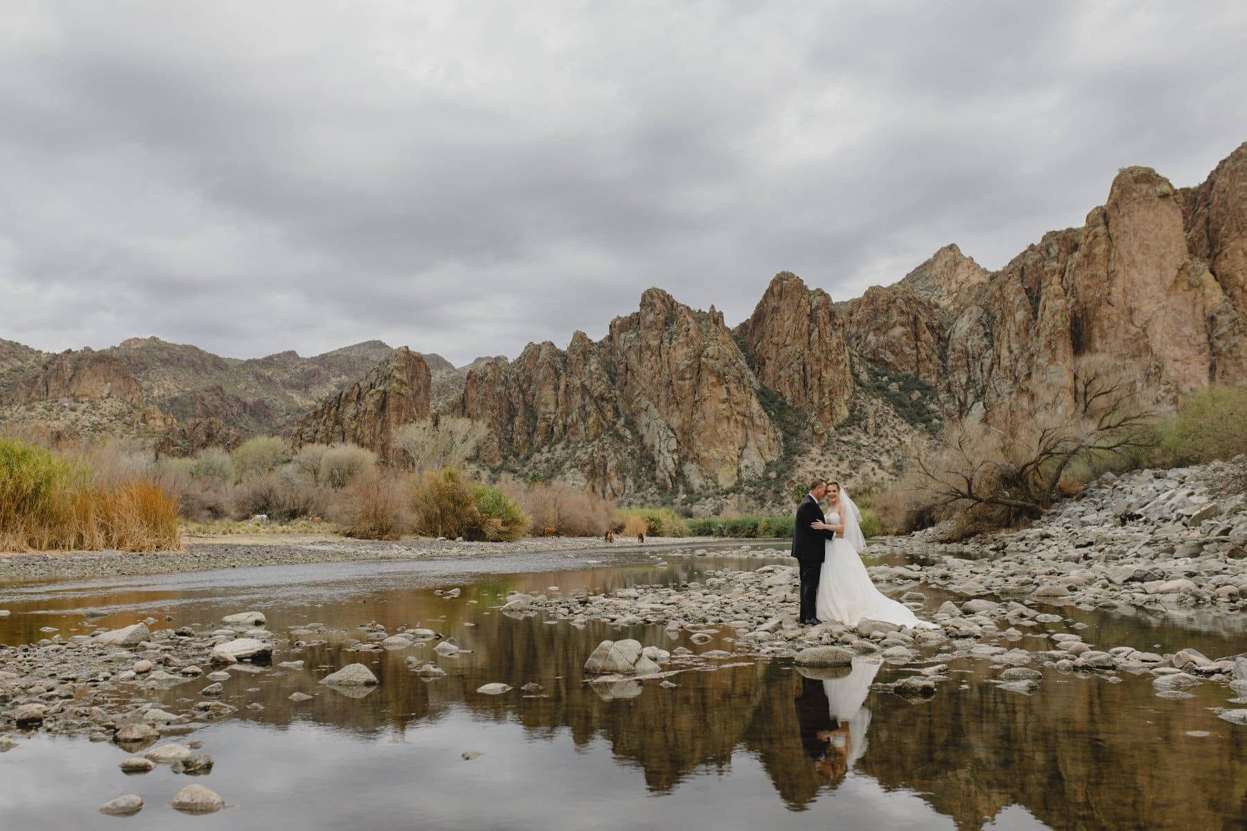 Saguaro Lake Ranch wedding photo session