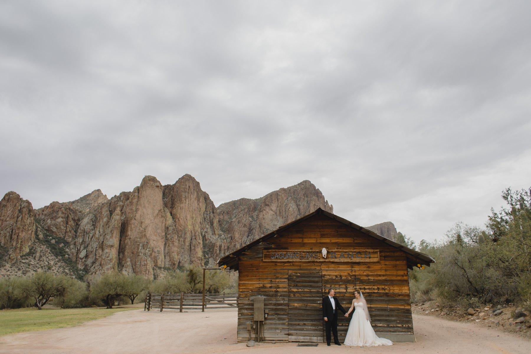 rustic wedding venue Arizona Saguaro Lake Ranch