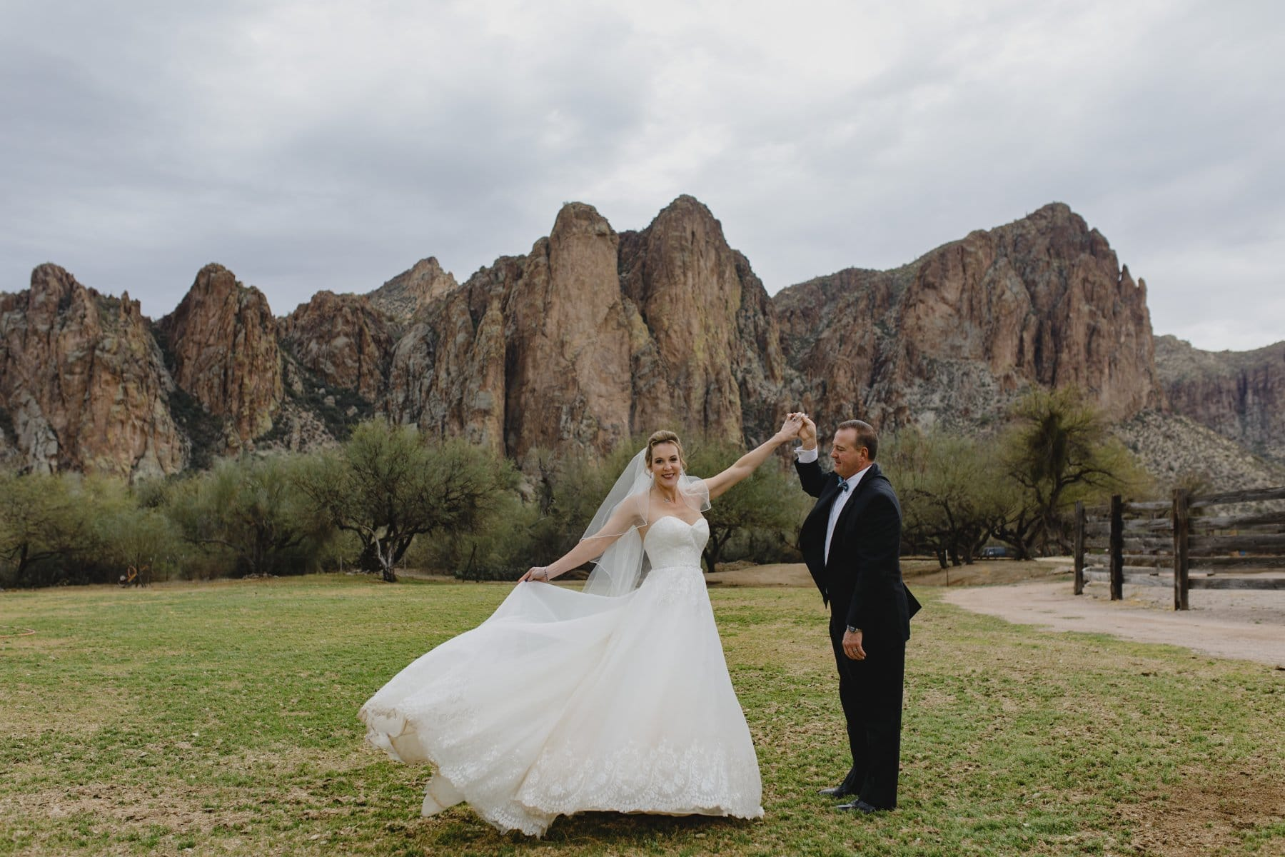 Saguaro Lake Ranch wedding venue Arizona