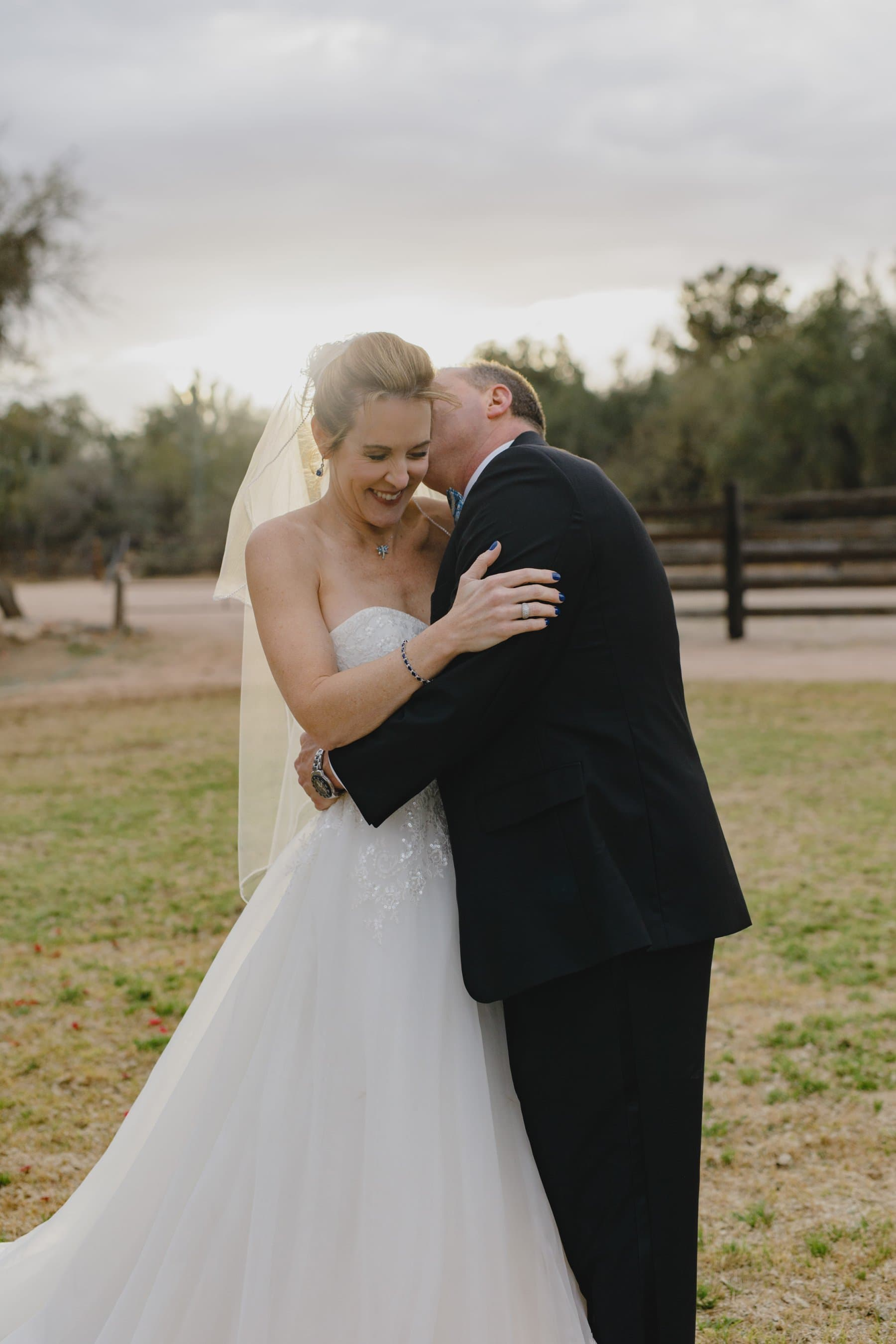 horse stables Saguaro Lake Ranch wedding venue
