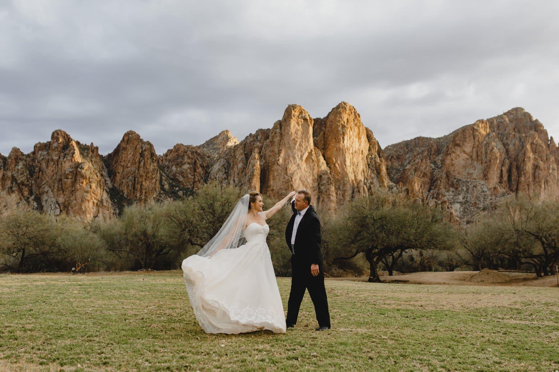 rustic mountain venue in desert in Phoenix