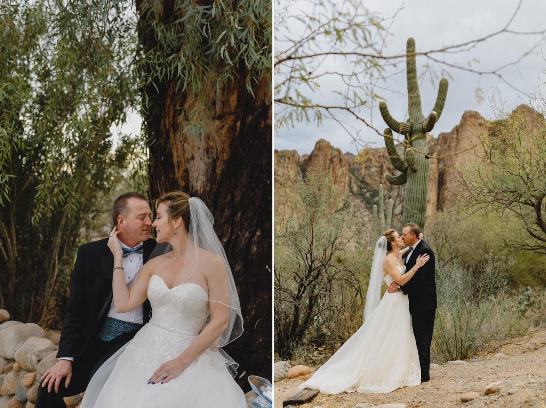 rustic desert wedding venue in Phoenix Saguaro Lake Ranch