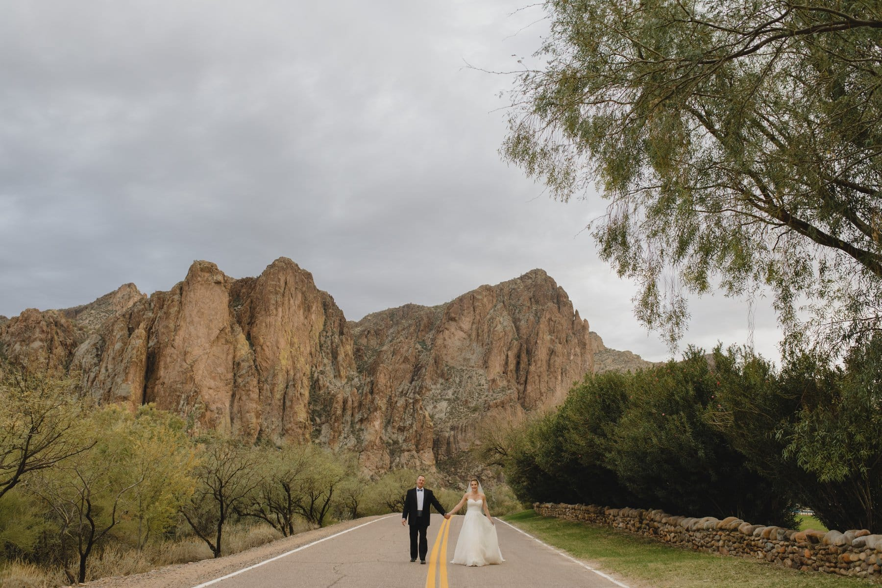 Saguaro Lake Ranch mountain wedding venue in Mesa