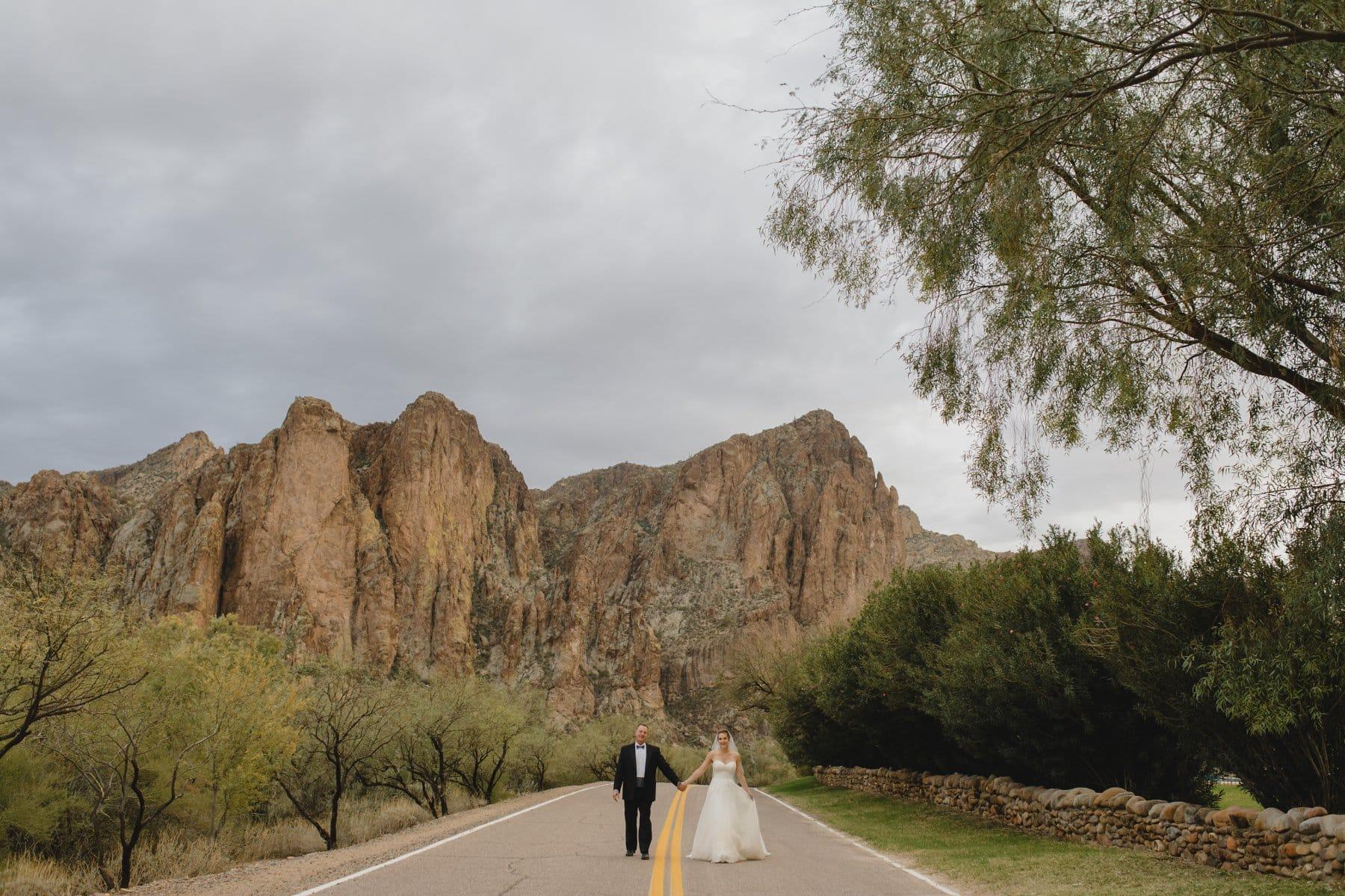 Saguaro Lake Ranch mountain wedding venue in Mesa