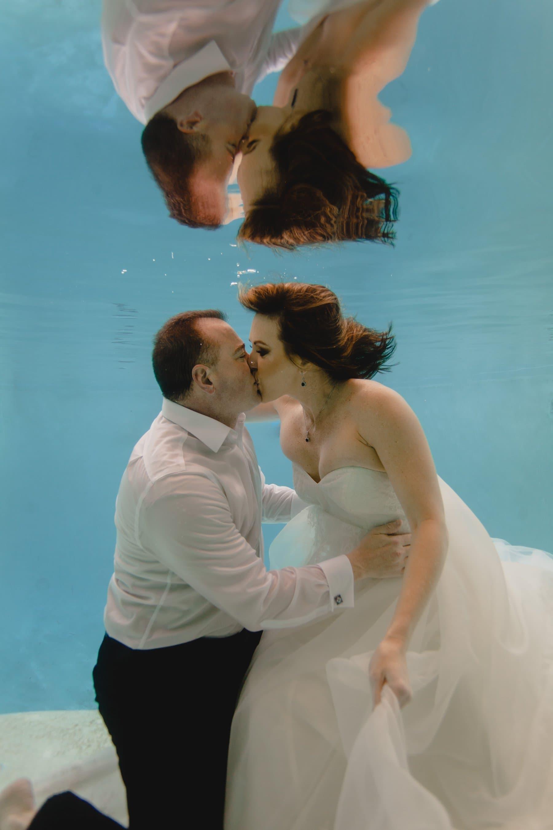 underwater wedding photos Arizona