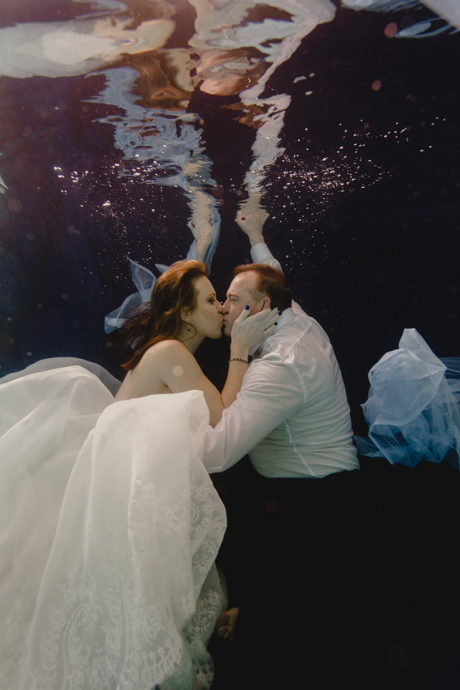 underwater wedding photos Arizona