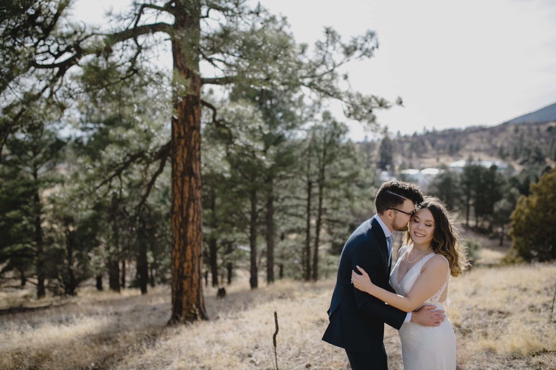 Flagstaff mountain elopement