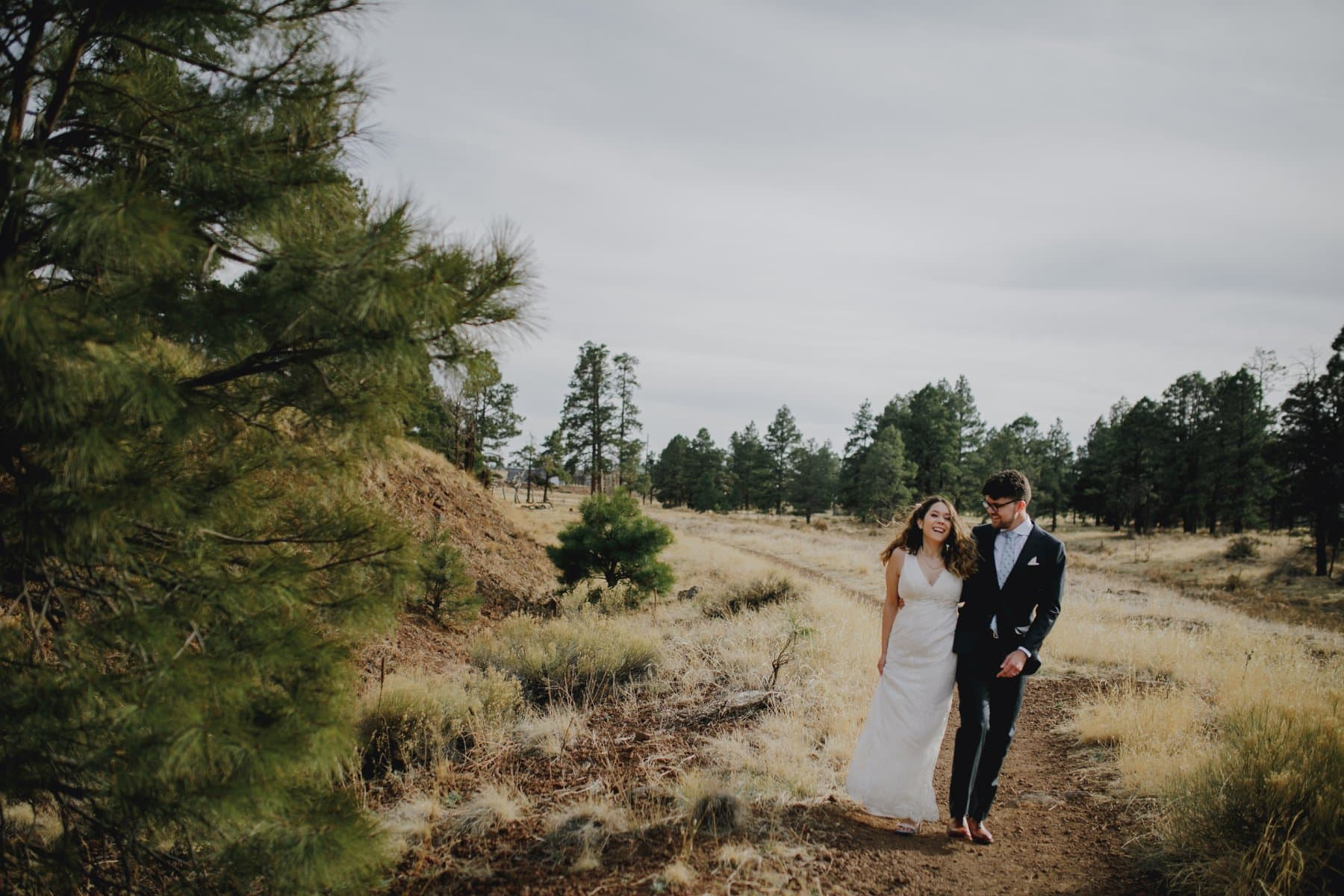 Flagstaff elopement hiking