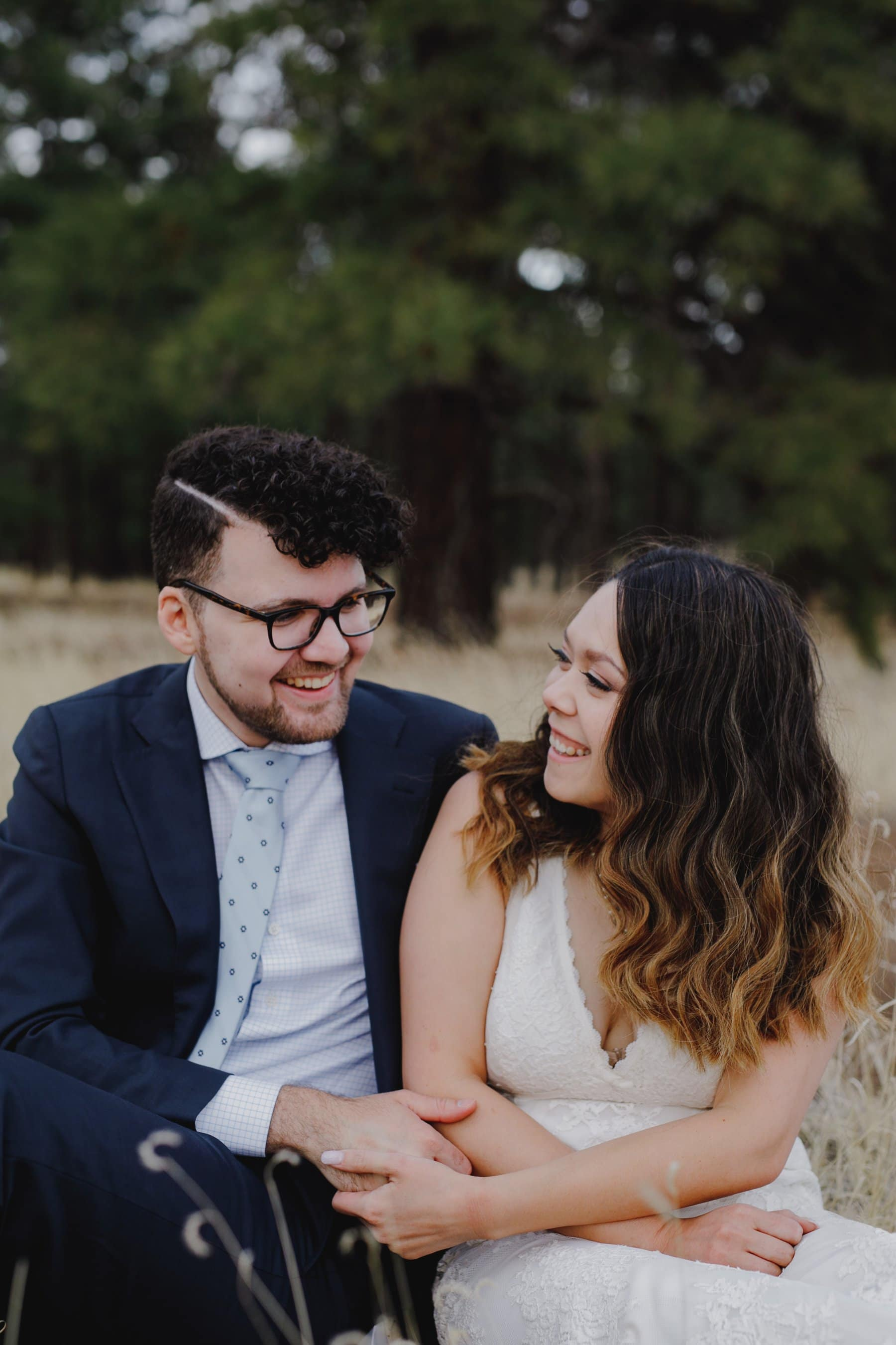 genuine candid Flagstaff elopement photos
