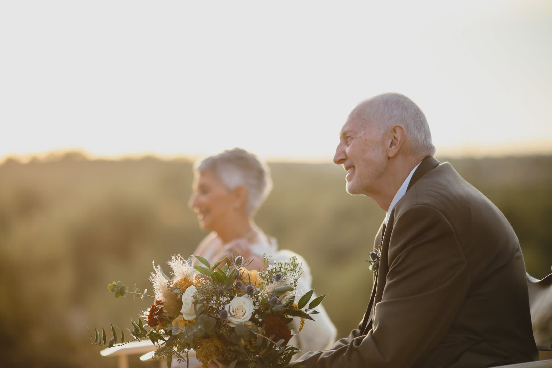 father of the bride eloping with your parents Arizona desert