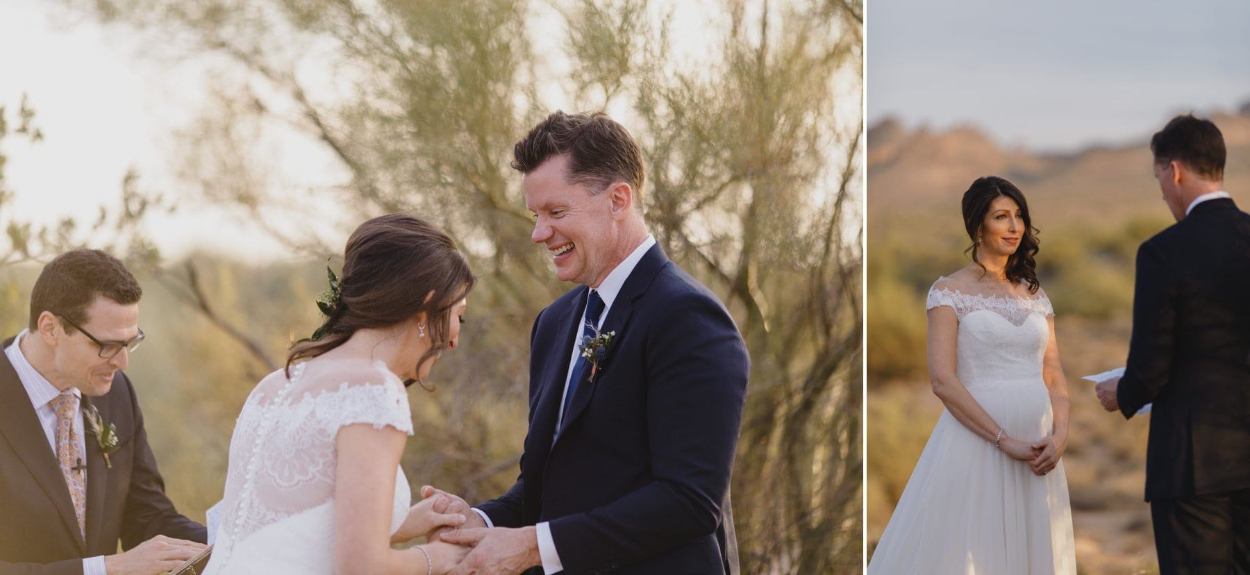 candid documentary elopement photos Arizona elopement photographer