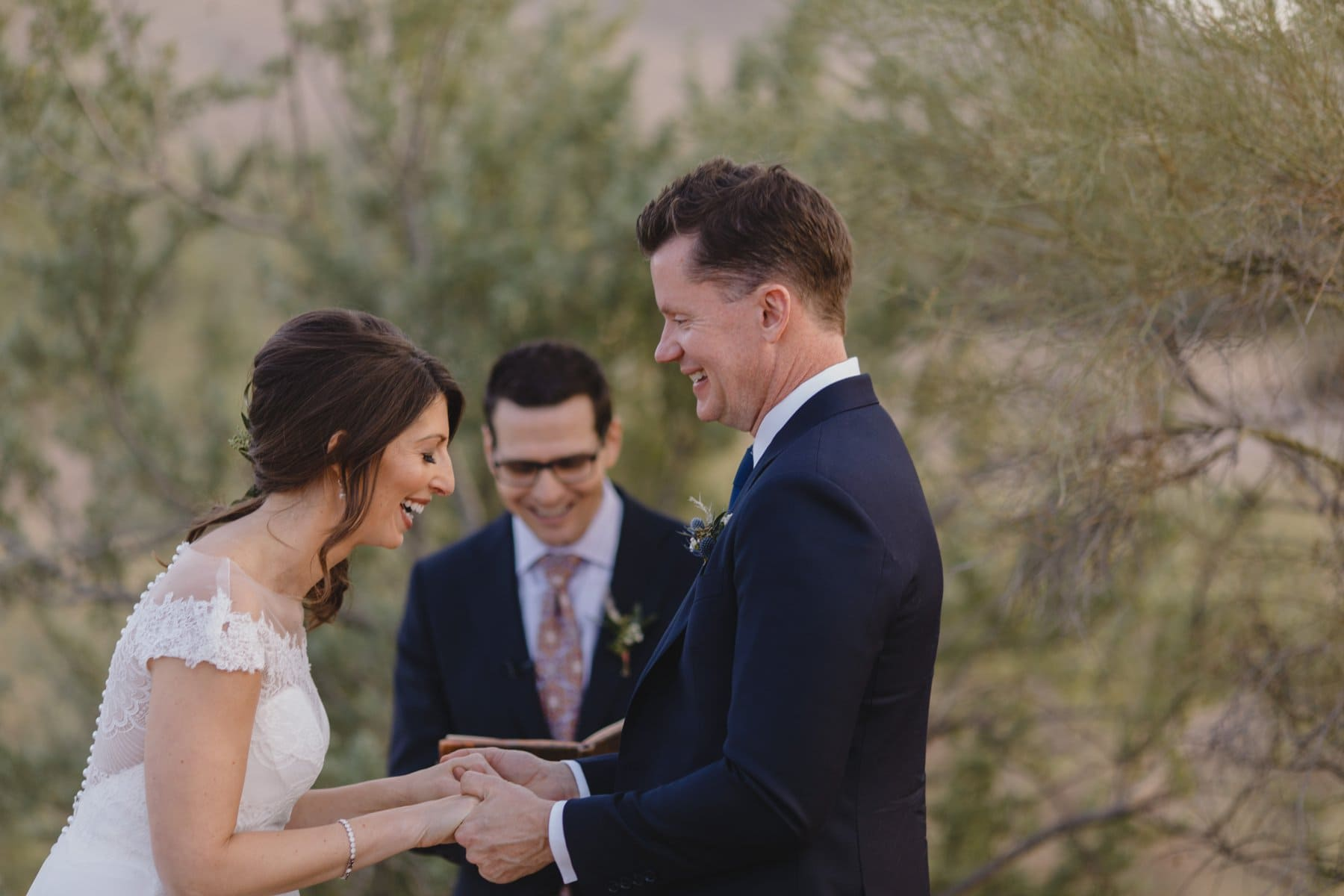 candid elopement photos Arizona