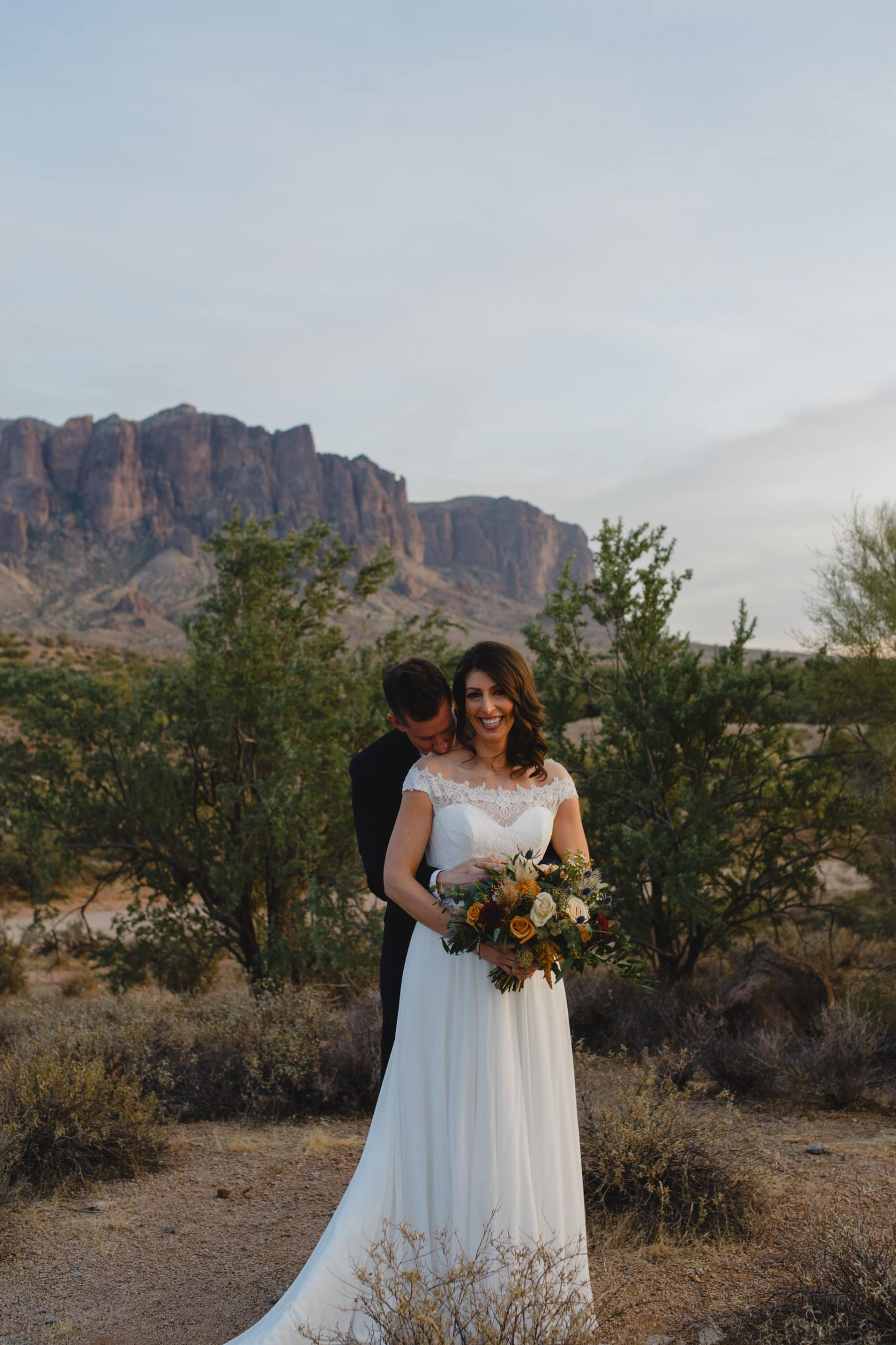 Arizona Superstition Mountains elopement photos