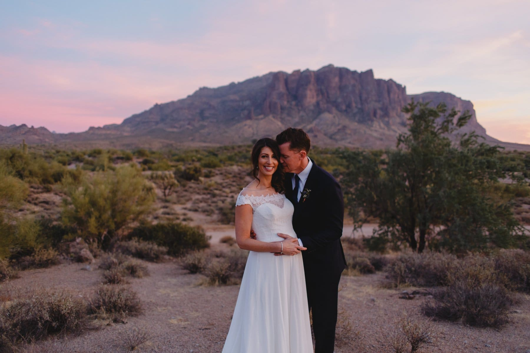 AZ elopement photos