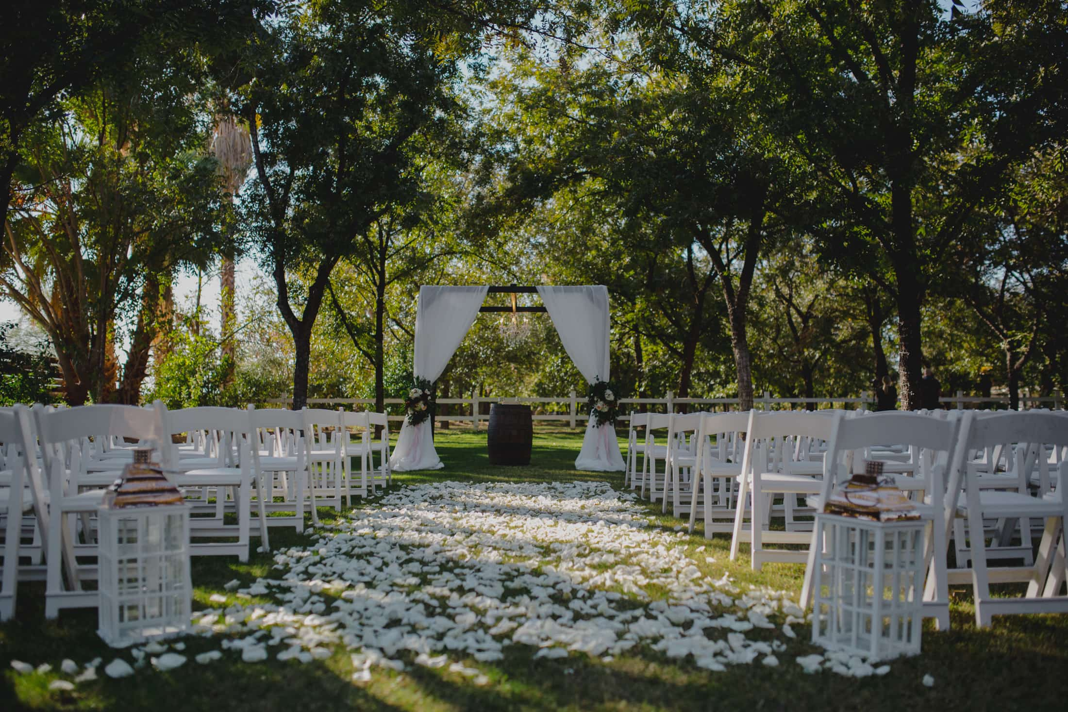 Venue at the Grove wedding