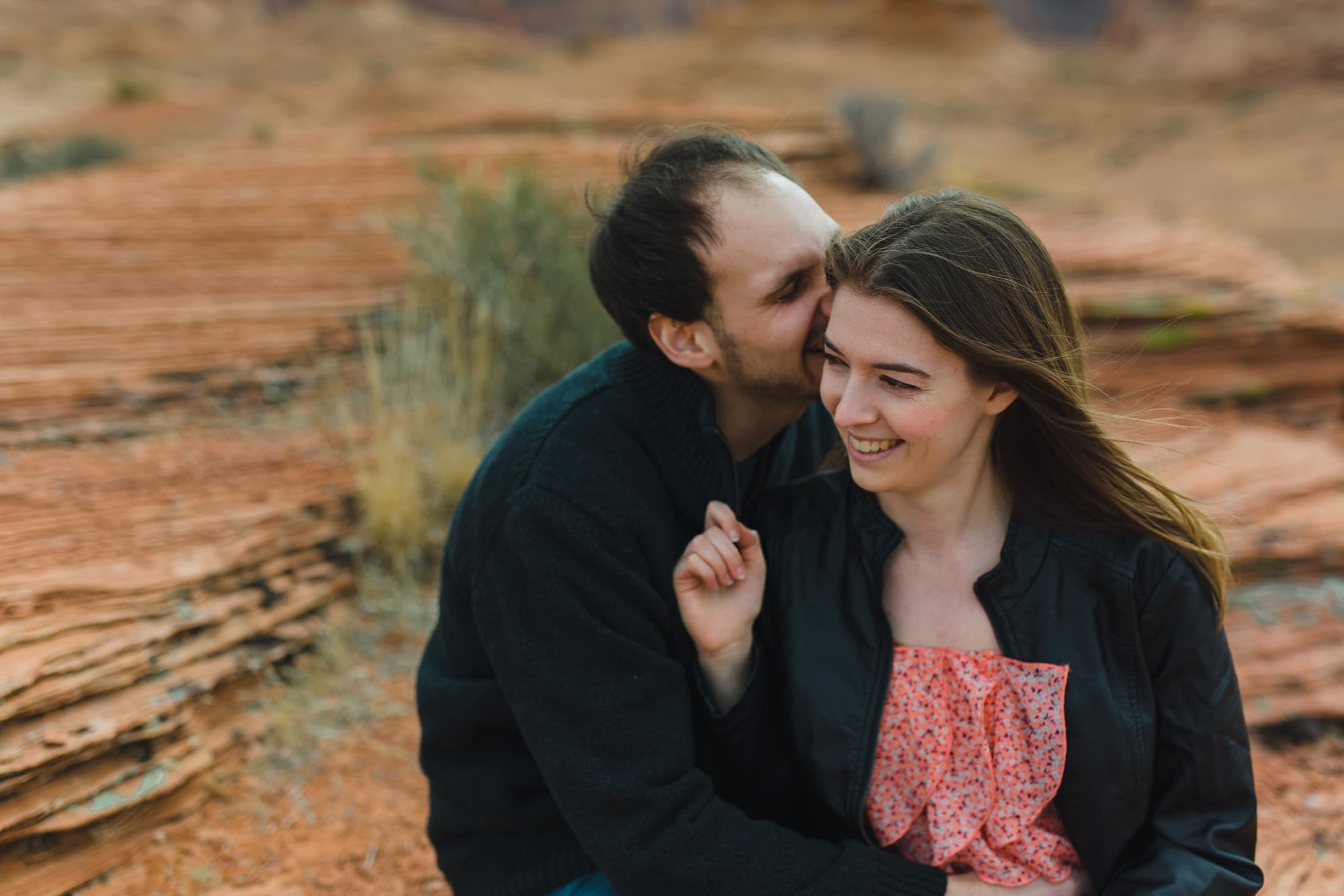 Lake Powell engagement photos