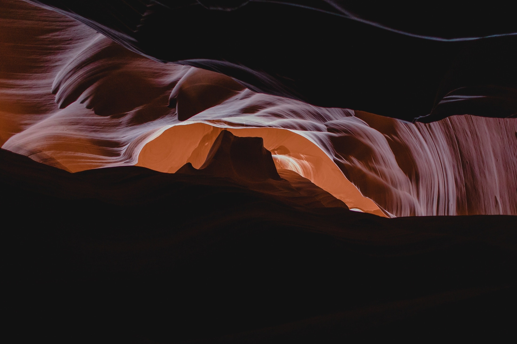 upper Antelope Canyon Monument Valley Sunrise formation