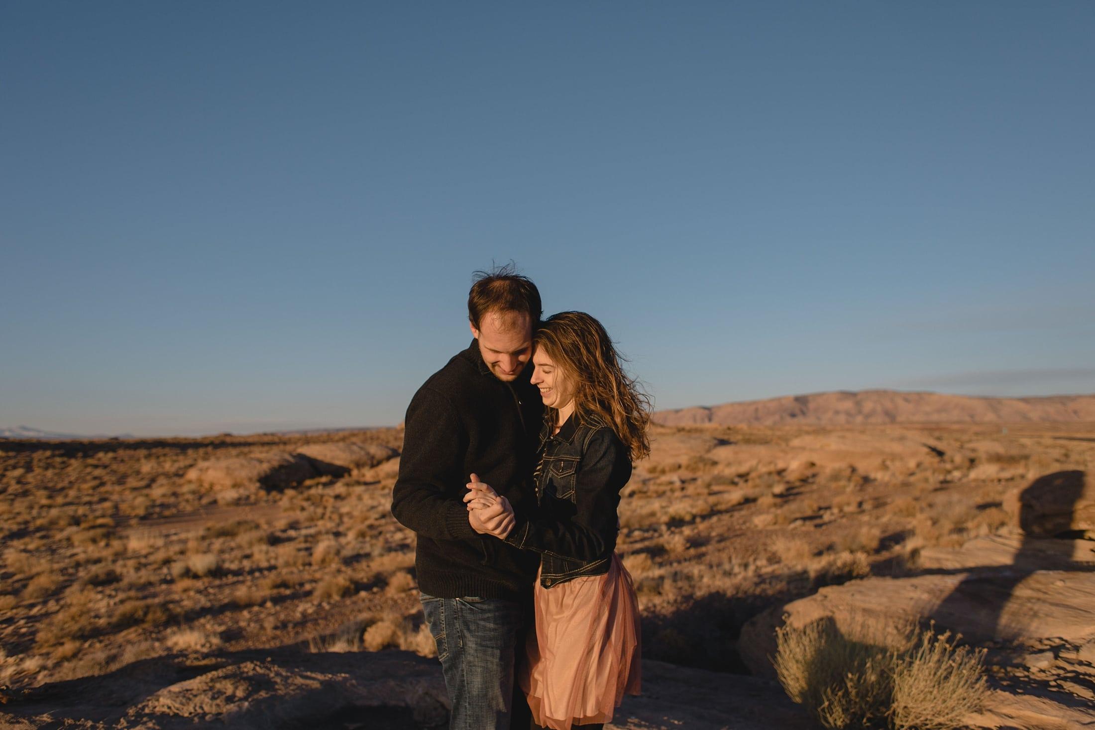 engagement photos northern Arizona