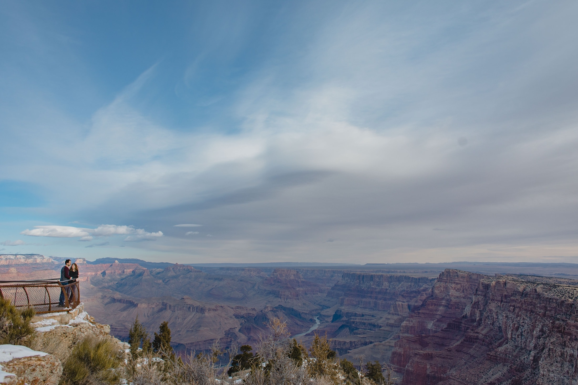 Grand Canyon engagement photos