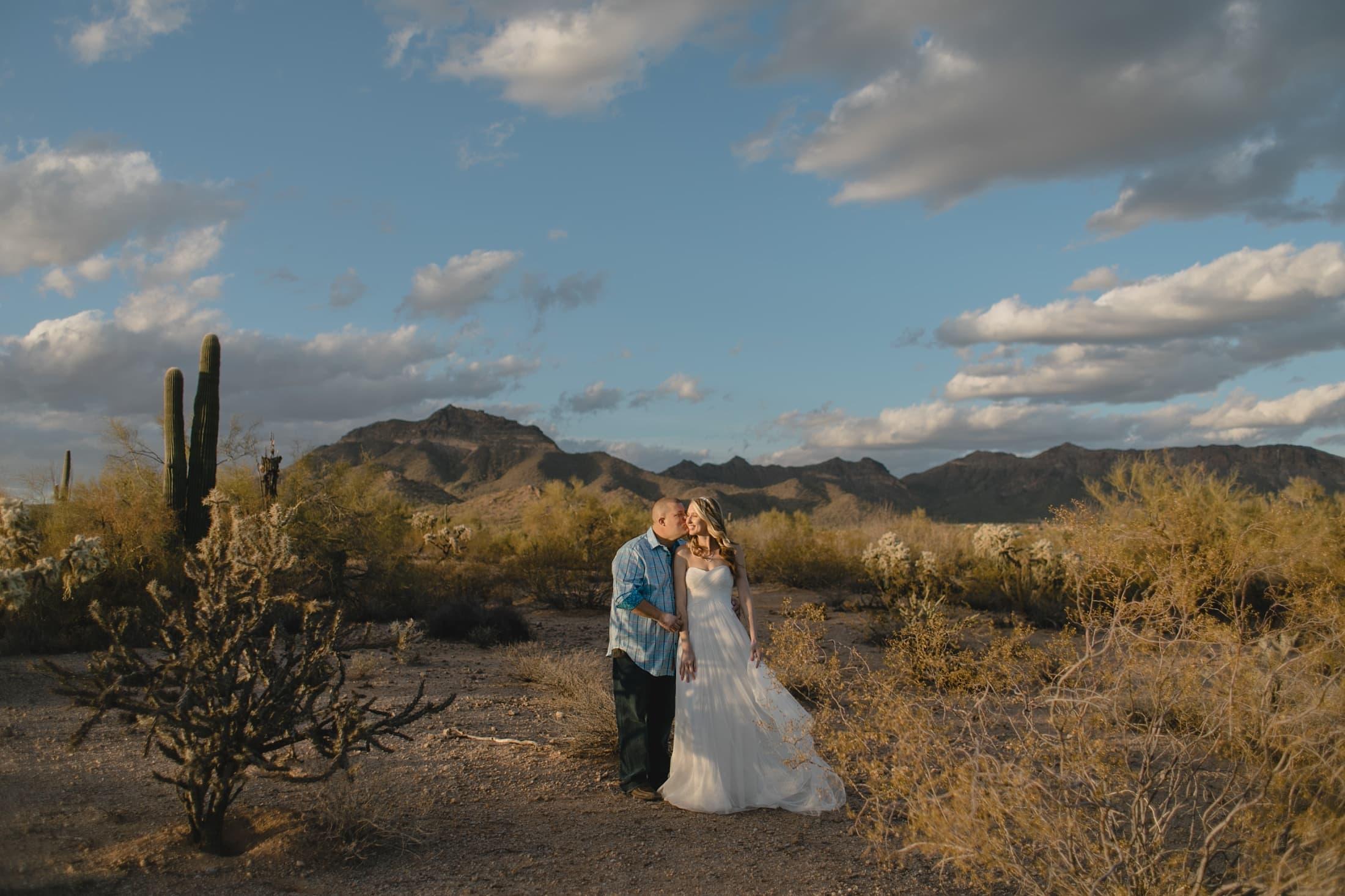 mountain desert elopement Apache Junction