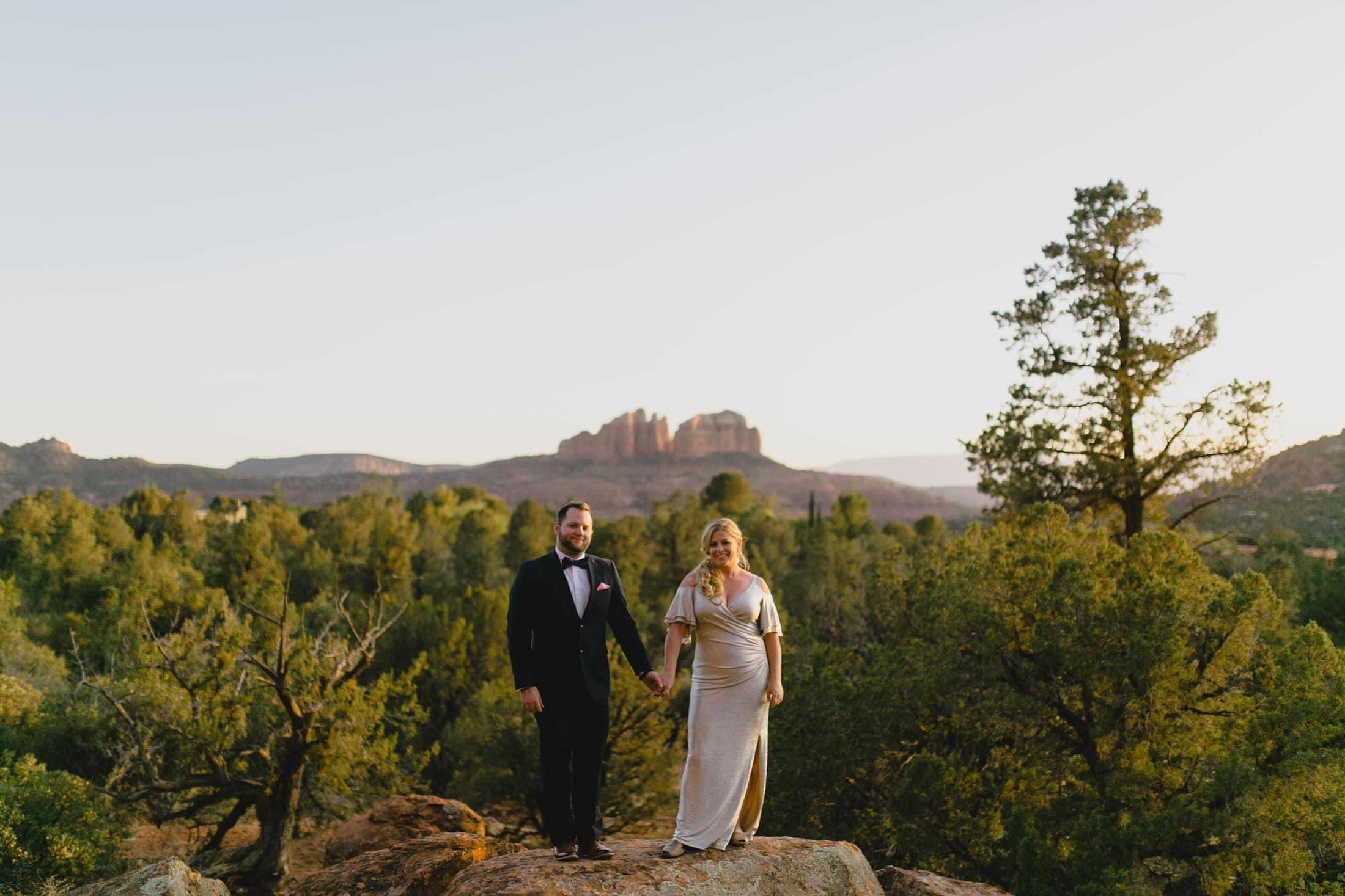 Sedona wedding photos