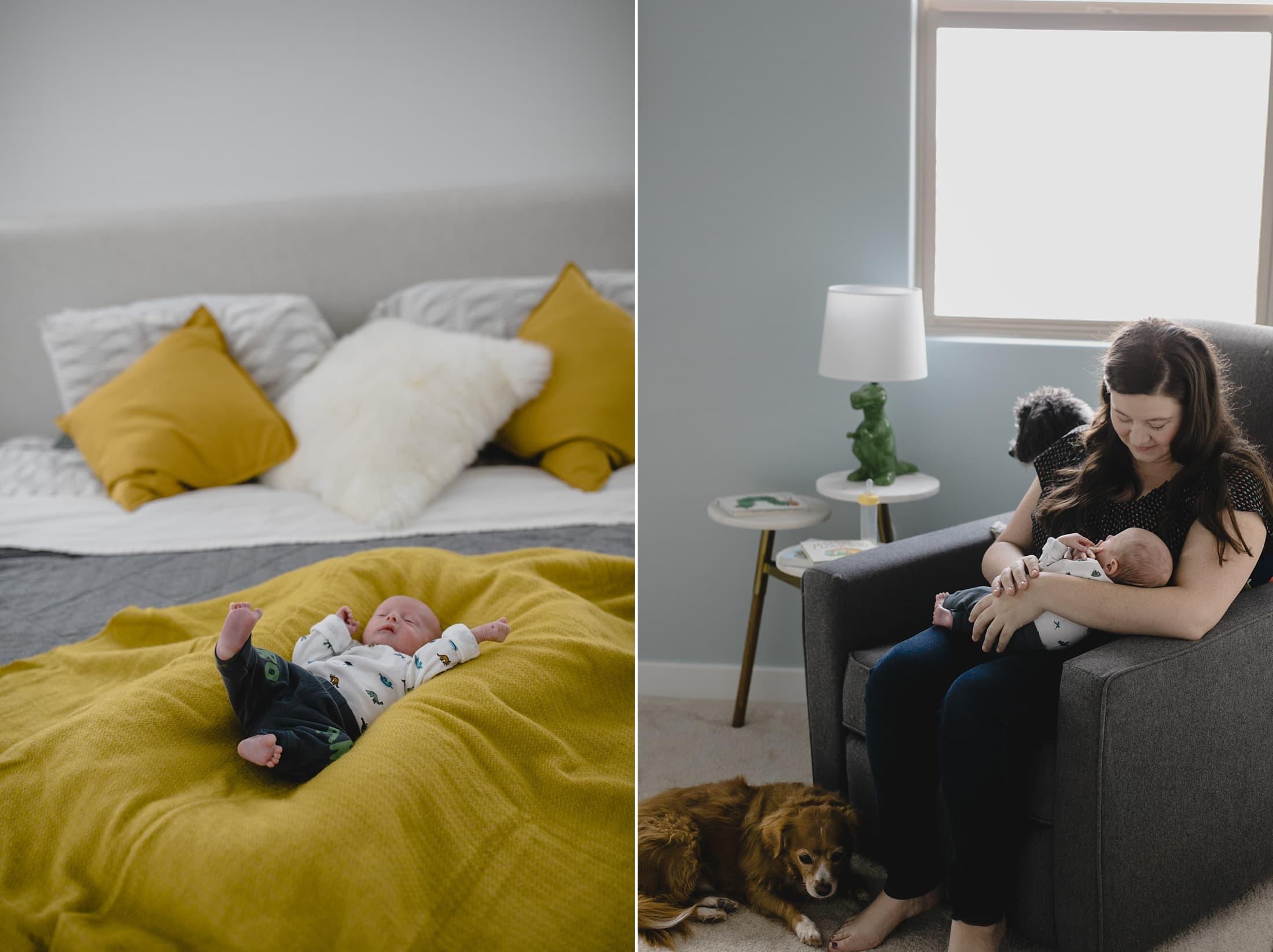in home newborn photos in Arizona