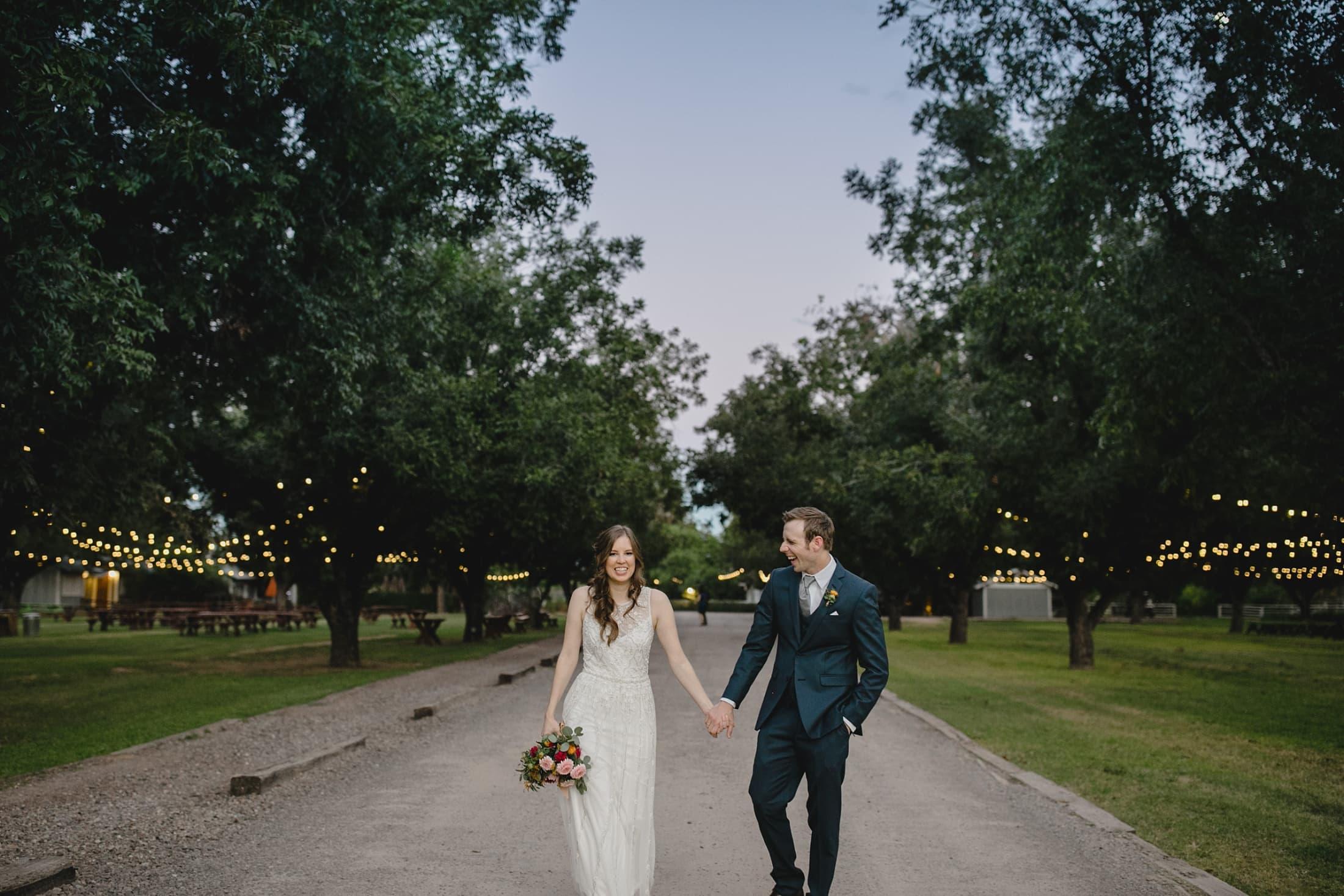 candid natural wedding photos Farm at South Mountain Arizona