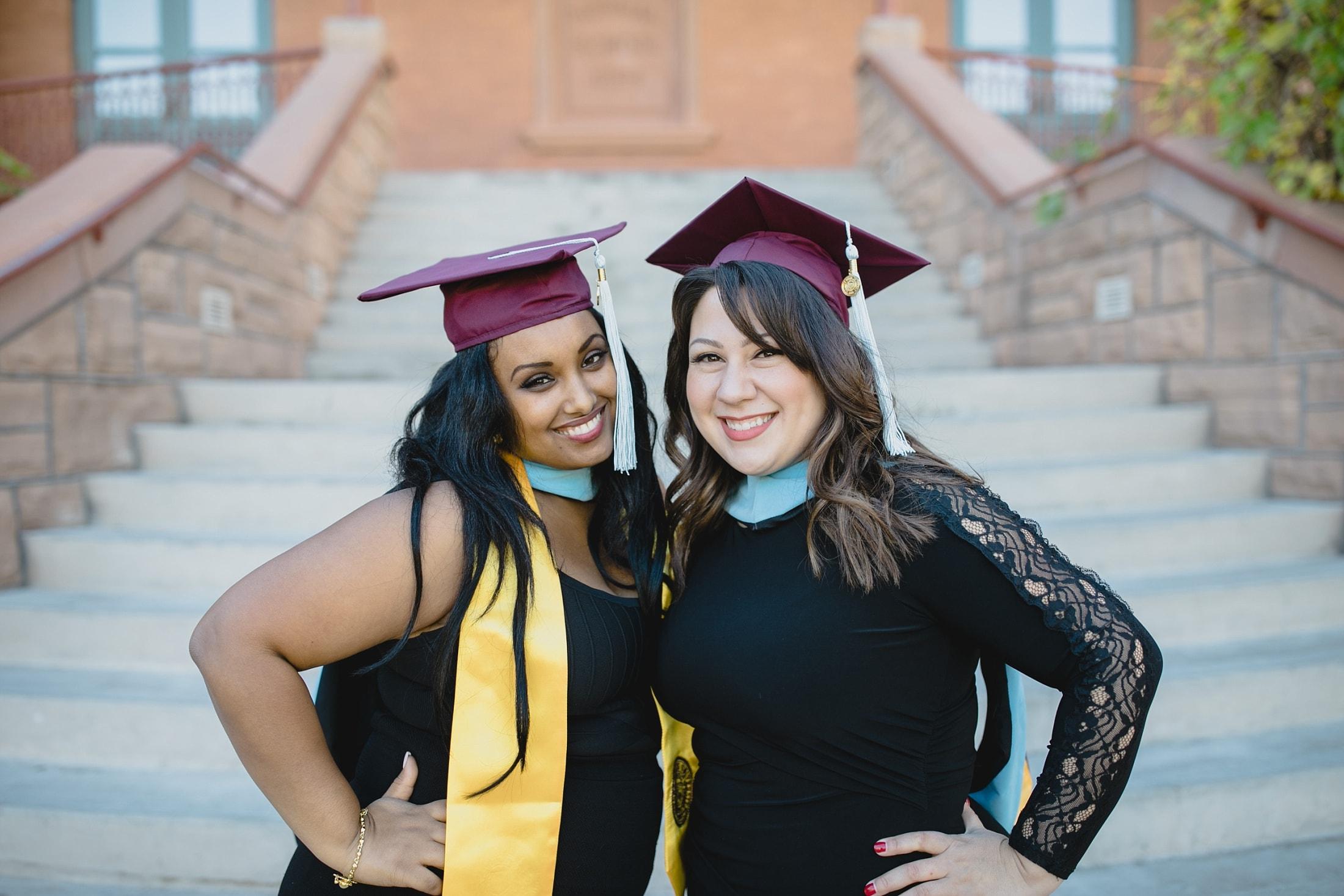 ASU college grad photos