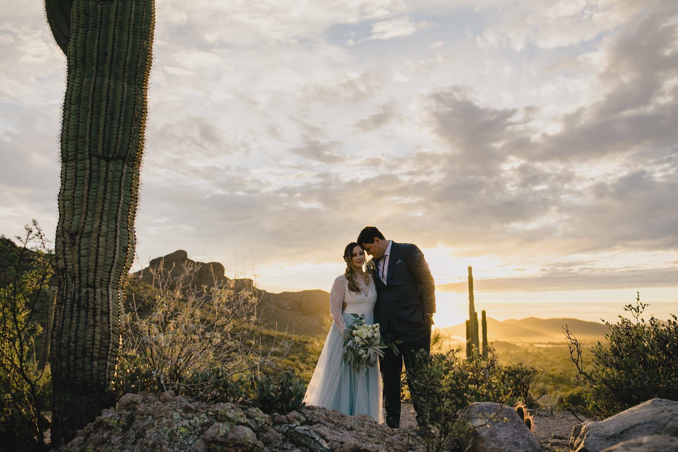 Superstition Mountains wedding photos