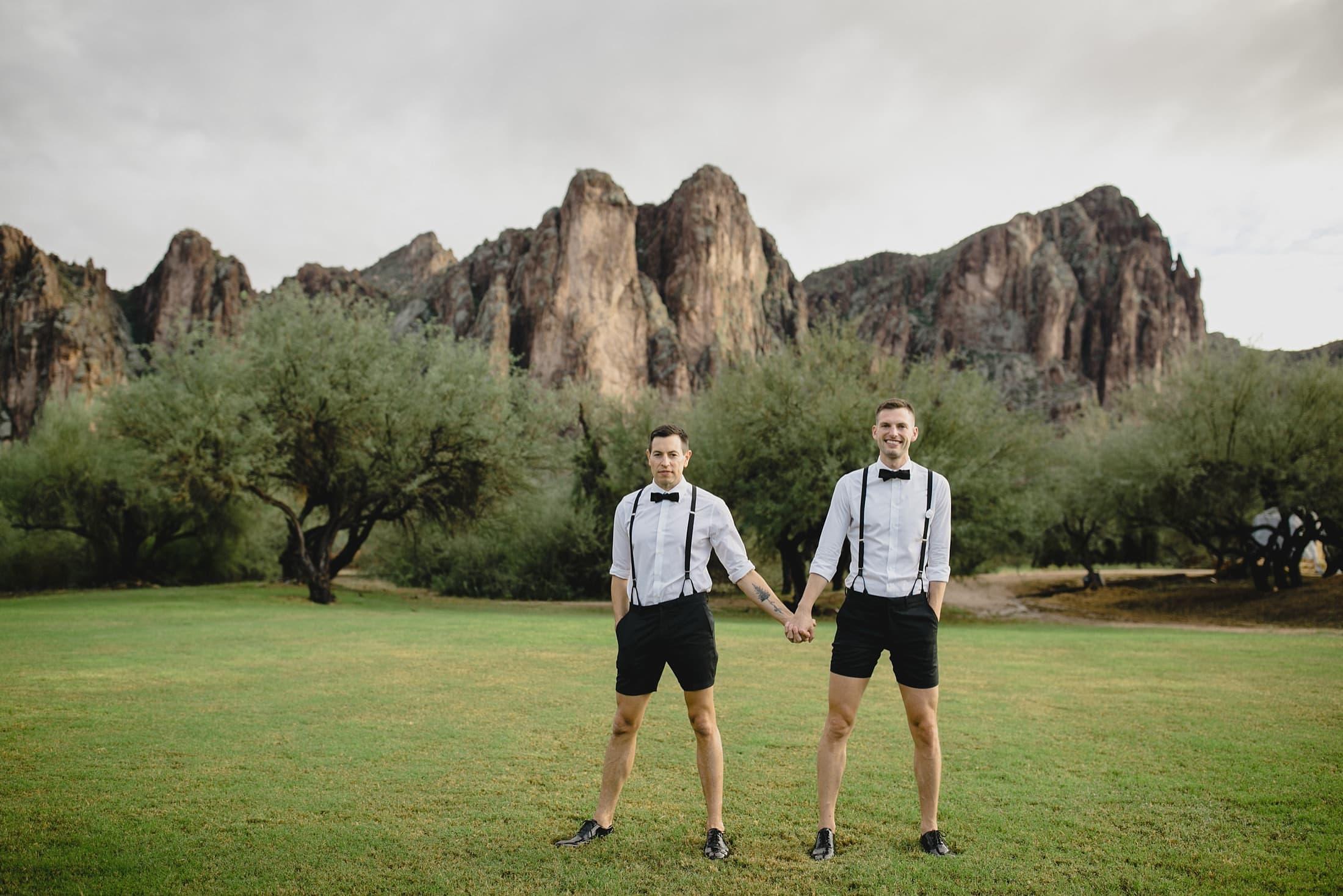 Saguaro Lake Ranch wedding in Arizona