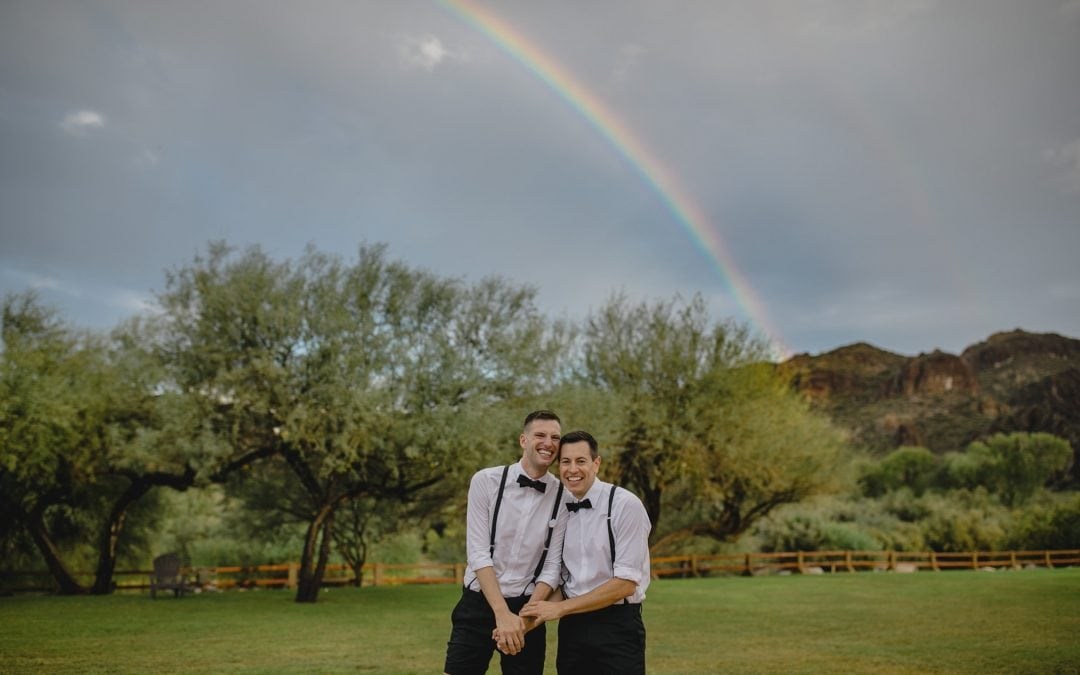 Rainy Saguaro Lake Ranch Wedding Weekend