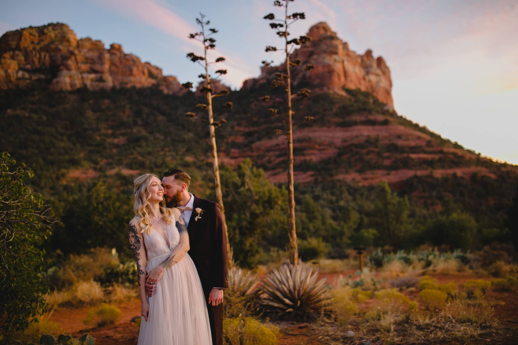Sedona elopement photos