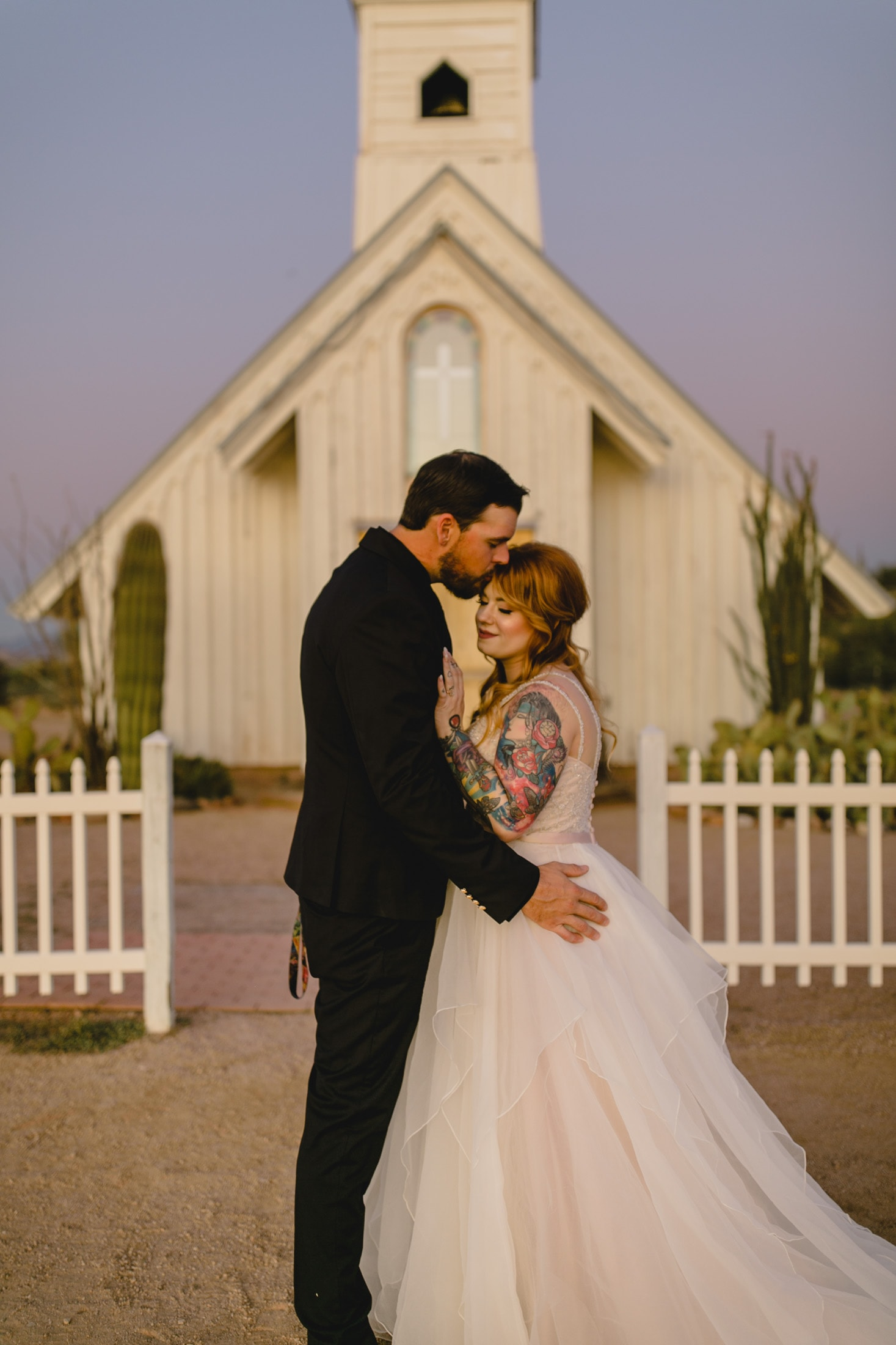 Superstition Mountain Elvis Church wedding