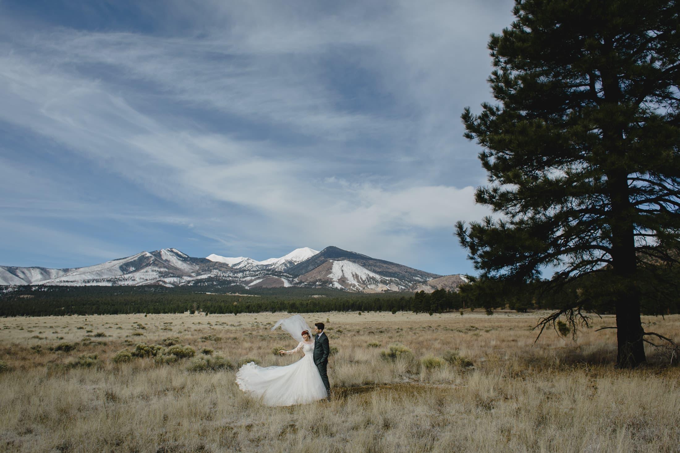 Flagstaff elopement photos