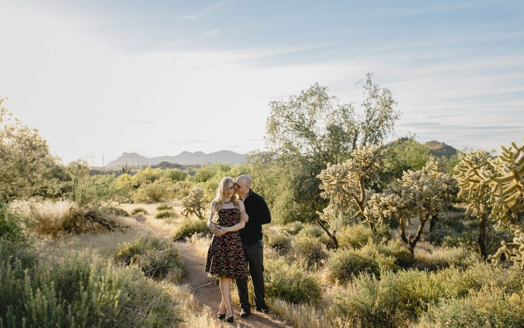 Arizona Engagement Photos