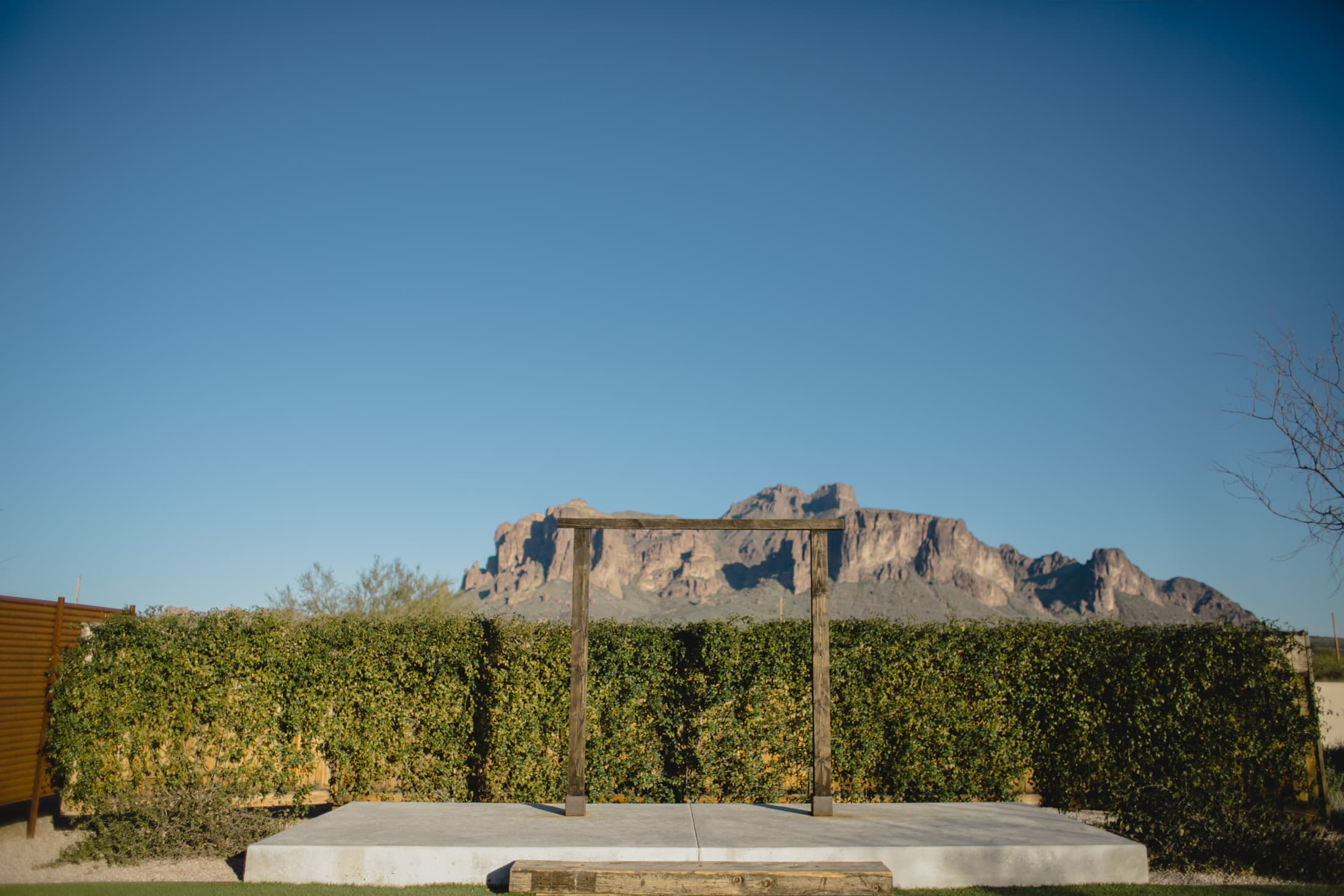 Paseo Superstition Mountain wedding venue