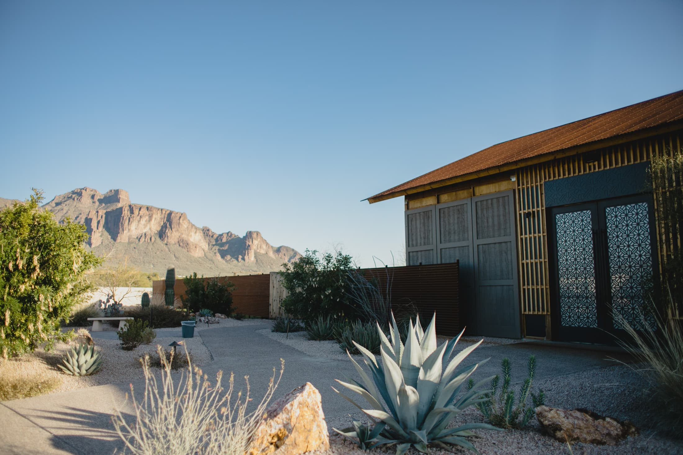 The Paseo wedding venue Superstition Mountains
