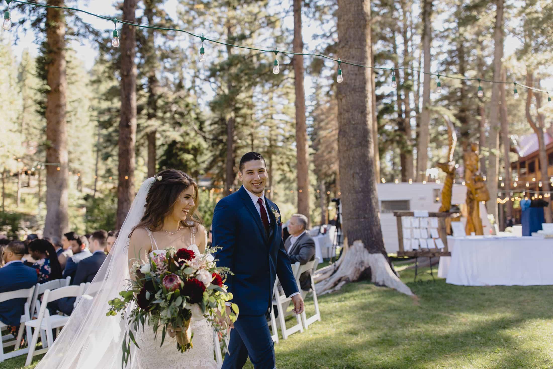 Red Setter Inn wedding ceremony
