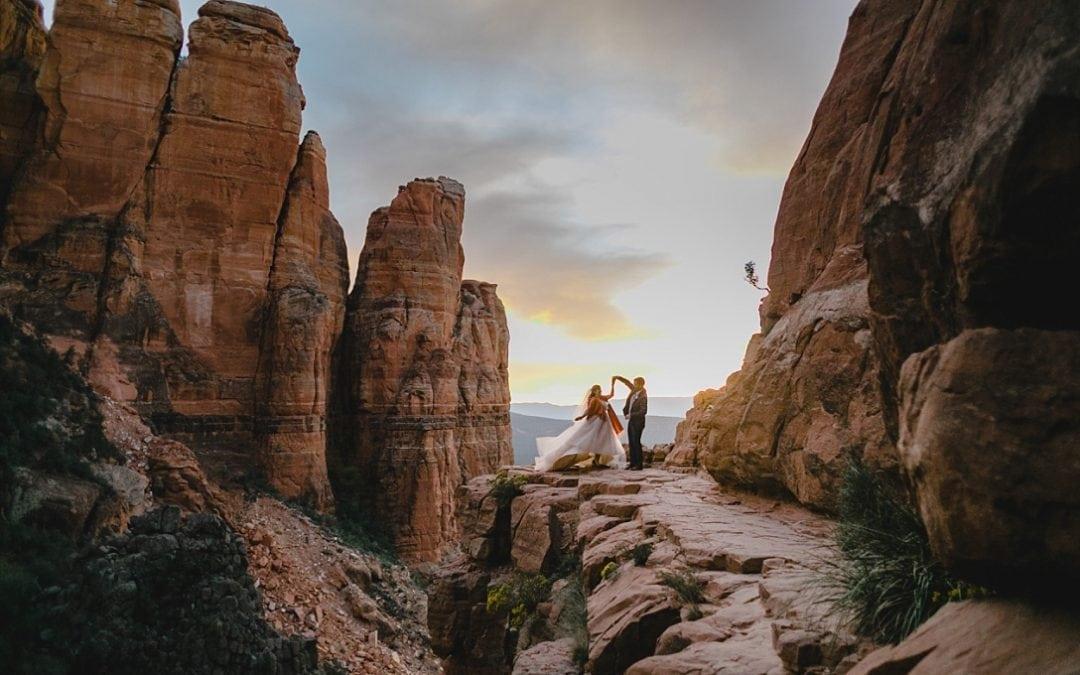 Cathedral Rock Elopement in Sedona Arizona