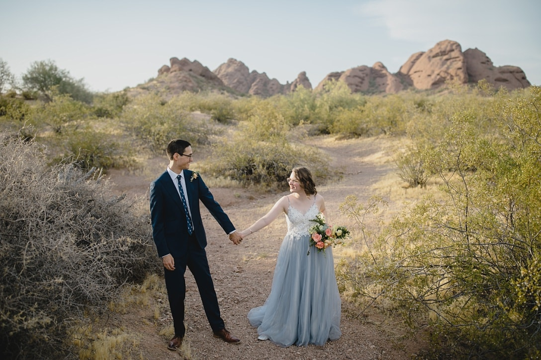 Papago Park elopement