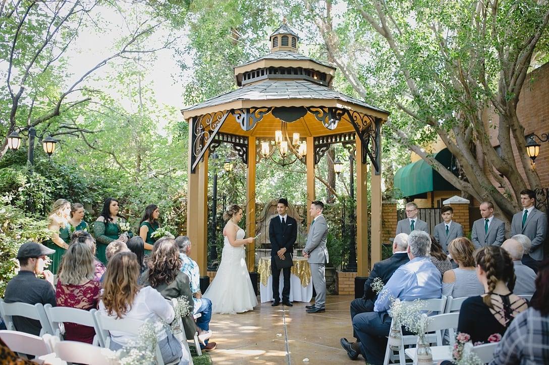 Regency Garden wedding ceremony